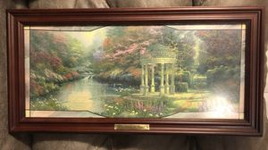 Tomas Kinkade, The Garden Of Prayer, Stained Glass, Lighted, Numbered Limited Edition collectible for Sale in Daly City, CA
