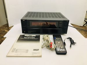 JVC Powerful Dynamic Super-A 690 Watt Receiver With Remote & Manual for Sale in Spring Hill, FL