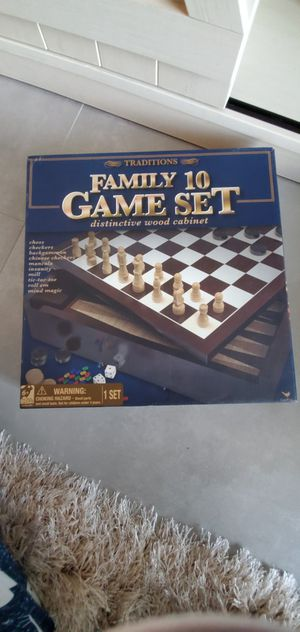 Game set, puzzle for Sale in Hollywood, FL