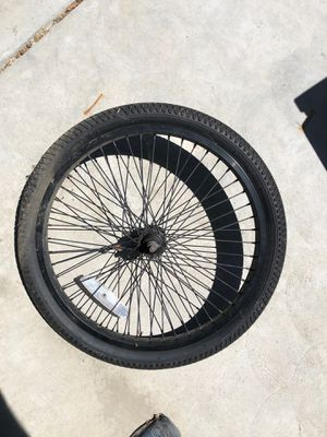 "20"" bike front tire brand new. No tube for Sale in Fresno, CA"