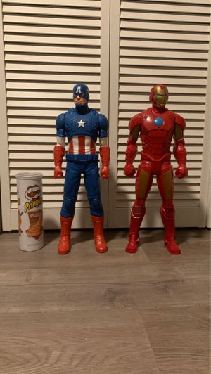 Captain America and Iron man action figures for Sale in Lake Worth, FL