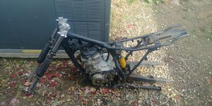 125 dirt bike frame with engine and forks for Sale in Brunswick, OH