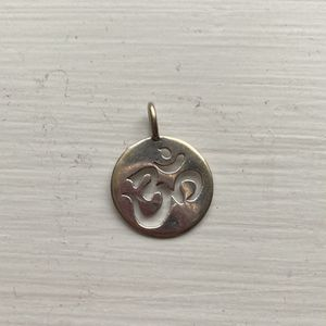 14k White Gold Om Pendant for Sale in Seattle, WA