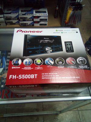 Pioneer fh-s500bt for Sale in Las Vegas, NV