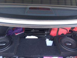 Speaker amp for Sale in La Mesa, CA