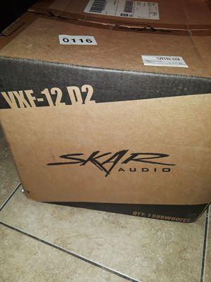 Skar 12 vxf for Sale in Fresno, CA