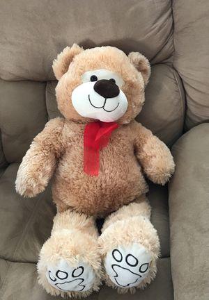 Teddy Bear Stuffed Animal Red Bow for Sale in Huntington Beach, CA