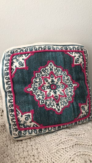 Large Boho Decorative Pillow for Sale in Sun City Center, FL