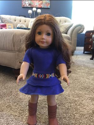 American Girl Doll Saige. RETIRED, Girl of the Year for Sale in Moapa, NV