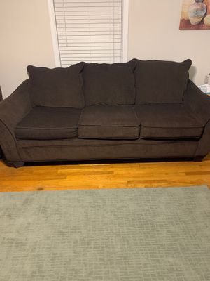 Brown couch good condition , smoke free home! for Sale in Lexington, KY