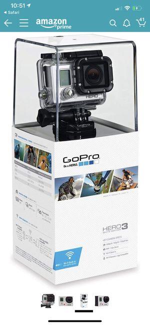 NEW GoPro 3 White Edition (no box) for Sale in Westland, MI