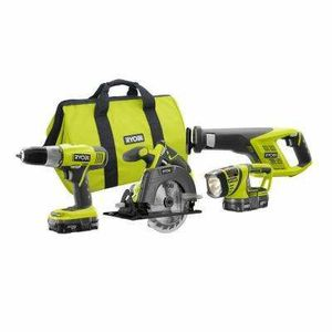 Ryobi 4 tool combo kit free shipping for Sale in Savannah, GA