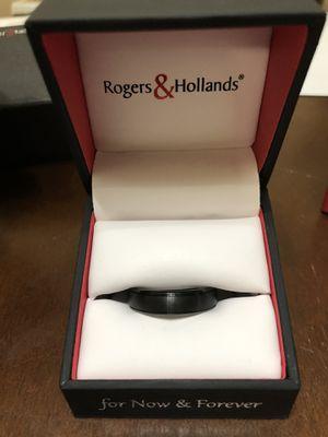 Tungsten wedding ring men's size 11 for Sale in Vista, CA