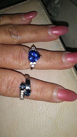 Blue safire rings. for Sale in Suffolk, VA