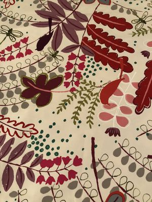 1.55 yards designer cotton fabric for Sale in Seattle, WA