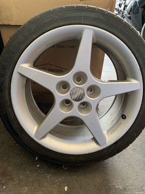 Real Saleen speedline wheel and kumho tire for Sale in Murfreesboro, TN
