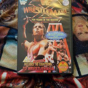 Wwf Wrestlemania X dvd for Sale in Chicago, IL
