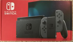 NEW - Nintendo Switch with Gray Joy-Cons for Sale in Troy, MI