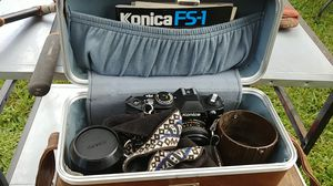 Vintage Konica FS-1 with case. for Sale in Hollywood, FL
