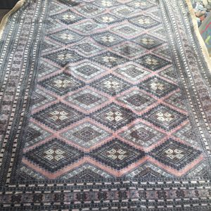 Hand Knotted Wool Silk Area Rug for Sale in CA, US
