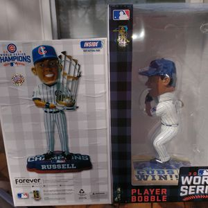 2016 Chicago Cubs Addison Russell Bobblehead for Sale in Chicago, IL