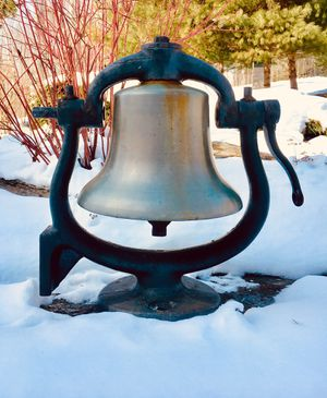 MAKE OFFER - Original 50's Era Locomotive Bell... MUST SELL for Sale in Northport, ME