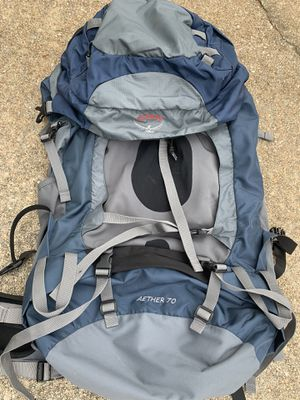 Osprey Aether 70 Camping/Hiking backpack for Sale in Atlanta, GA