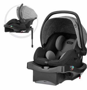 Evenflo LiteMax DLX Infant Car Seat, Meteorite for Sale in Las Vegas, NV