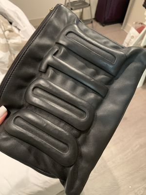Kate Spade Black Leather Outfit of the Day Wristlet for Sale in Culver City, CA