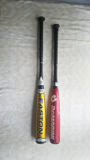 Demarini and Easton youth baseball bats for Sale in Oregon City, OR