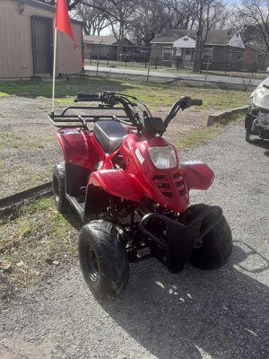 Motorcycles ATV 4 wheeler four wheeler dirt bike go kart cuatrimoto for Sale in Dallas, TX