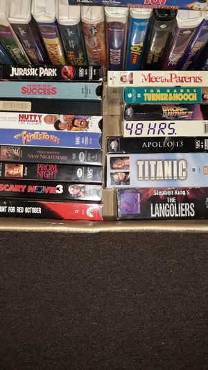 Various Movies on VHS for Sale in Oyster Bay, NY