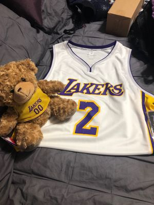 Los Angeles Lakers jersey with bear giftset for Sale in Vernon, CA
