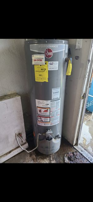 48 gallons gas water 🚿 heater 60 days warranty and delivery 250 for Sale in Bakersfield, CA