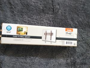 "Onn fixed TV wall mount 17-42"" for Sale in Binghamton, NY"