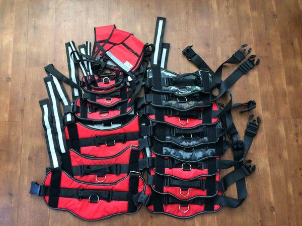 Dog harnesses sizes XS-XXL