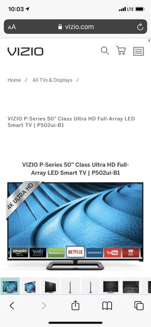 Vizio 50 inch Smart Tv for Sale in Kent, OH
