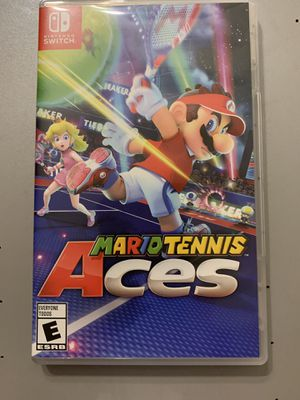 Nintendo Switch. Mario tennis Aces for Sale in Lockport, IL