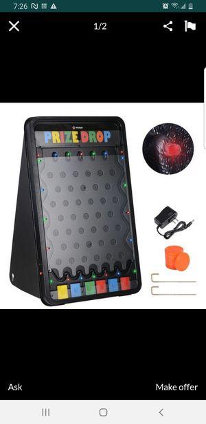 "WinSpin LED Plinking Prize Drop Board & Pucks 30""x18"" 6-Slot for Sale in Bellflower, CA"