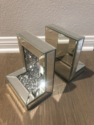 Mirrored Acrylic Bookends for Sale in Brea, CA