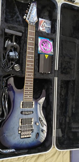 Ibanez s series guitar with amp for Sale in St. Louis, MO