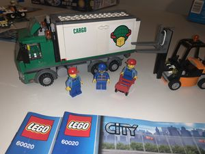 LEGO 60020 City Cargo Truck. Complete with figures and instructions. for Sale in Gilbert, AZ