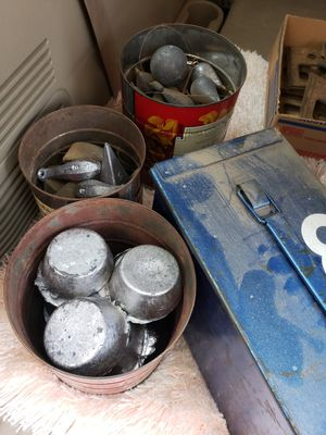 Lead fishing weights for scrap. 200 pounds for Sale in Portland, OR