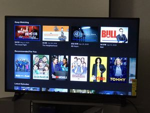 Sharp 50 inch smart tv like new moving out sale for Sale in Detroit, MI
