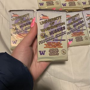 UW Huskies Football Greats Packs Pacific 1992 for Sale in Everett, WA
