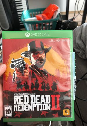 Red dead redemption two x box one for Sale in Pierre, SD
