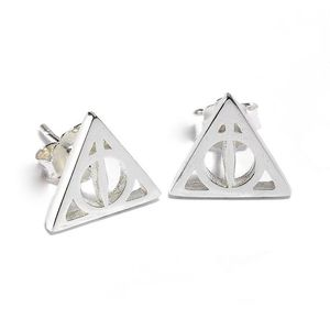NEW Harry potter Sterling Silver Deathly Hallows Stud Earrings for Sale in Washington, DC