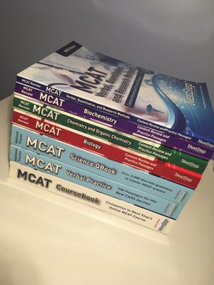 MCAT NextStep Test Prep Bundle for Sale in Lithonia, GA