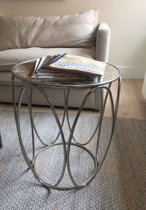 West Elm, Mirrored Side Table for Sale in New York, NY