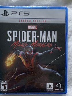 Spider Man Miles Morales PS5 for Sale in Rockville,  MD